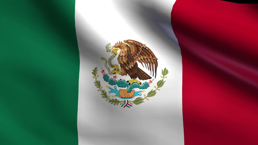 Resultado de imagem para flag mexico 3d