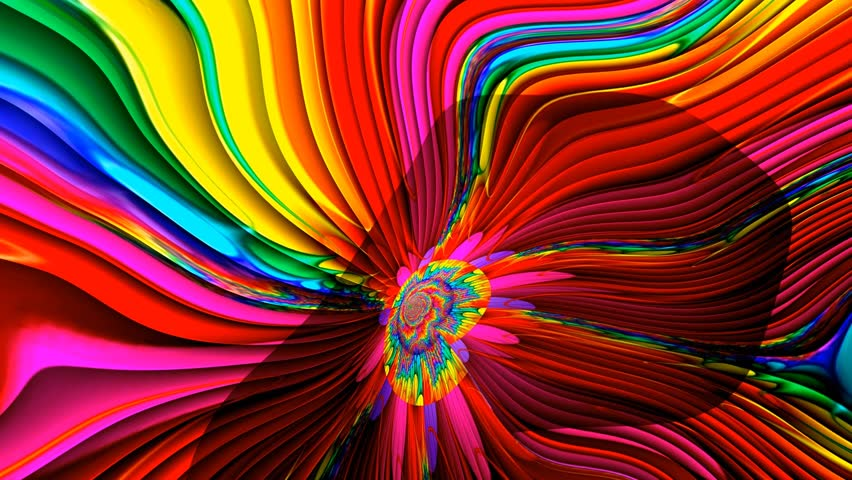Liquid Light 1960's Psychedelic Colorful Backgrounds