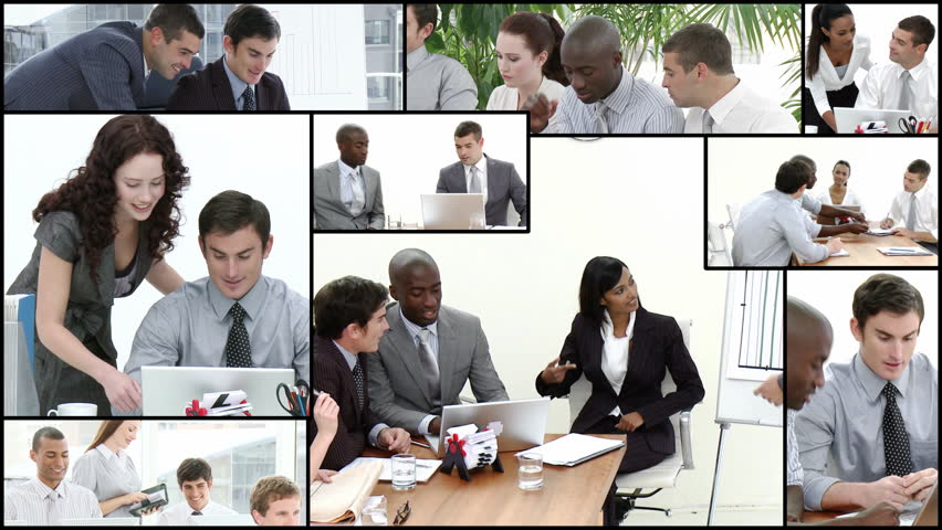 Montage footage of Business team at work | Shutterstock HD Video #653164