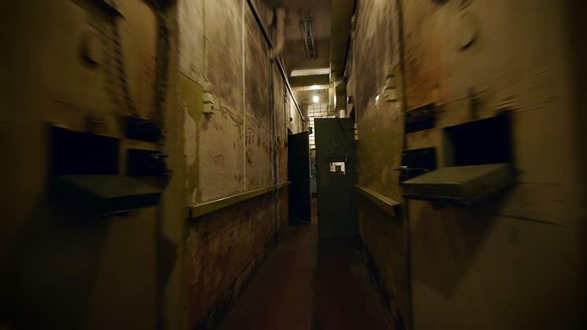 HD - Prison corridor