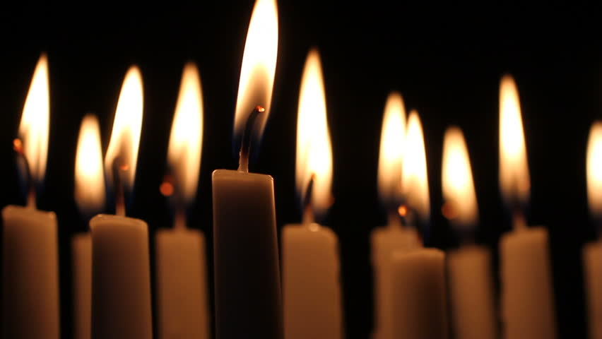 Lit Candle Stock Footage Video - Shutterstock
