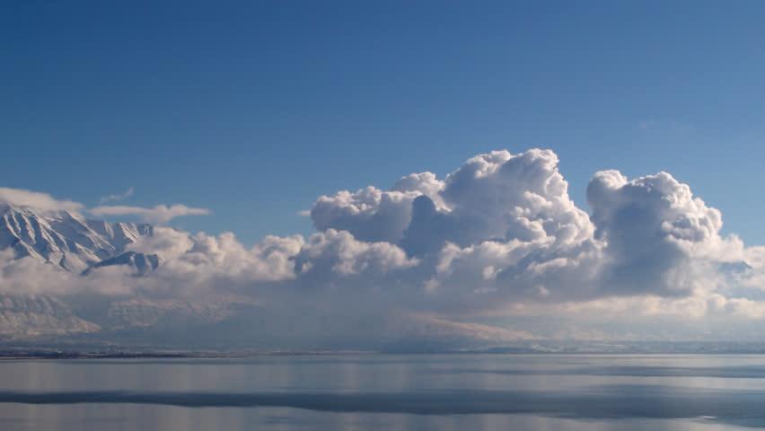 A Cloud time-lapse in the Beautiful Utah Sky 1080p