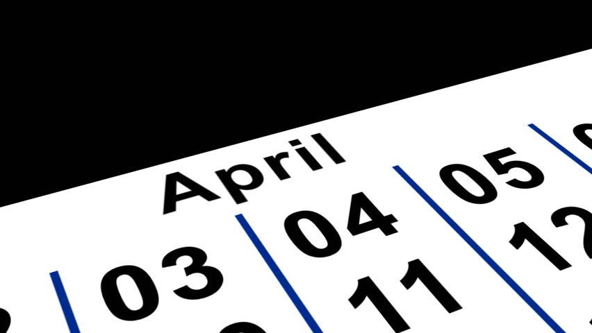 April Fools Calender   Shutterstock HD Video #70285