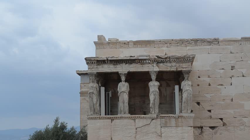 erechtheion and its caryatids essay Erechtheion – classical greek art the construction of the erechtheion there is the porch of the caryatids.