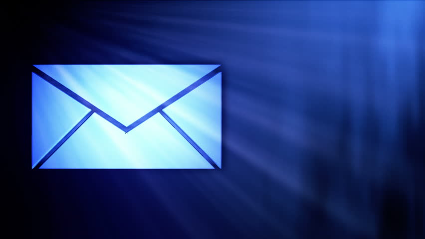 Message Inbox, Incoming Messages Or Emails Stock Footage Video ...
