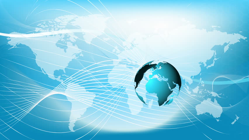Blue Globe VECTOR With This Globe: Http://www.shutterstock