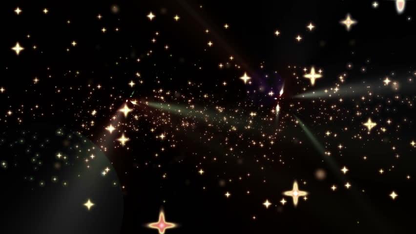 Magic stars fly 4k | Shutterstock HD Video #7904131