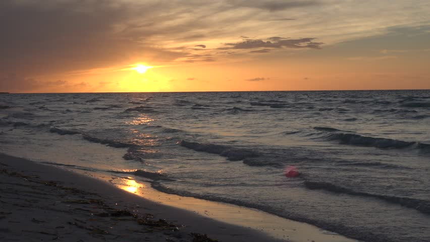 Image result for sun setting on the water