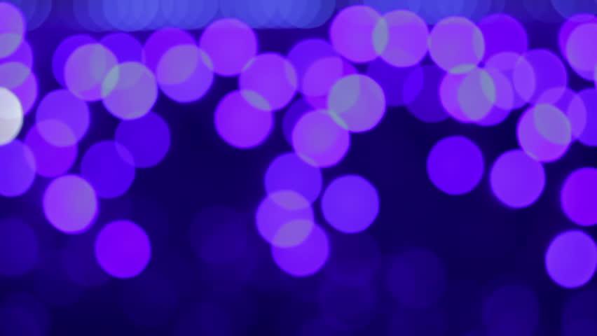 Violet bokeh randomly blinking.. Source: DSLR, graded. | Shutterstock HD Video #8470714