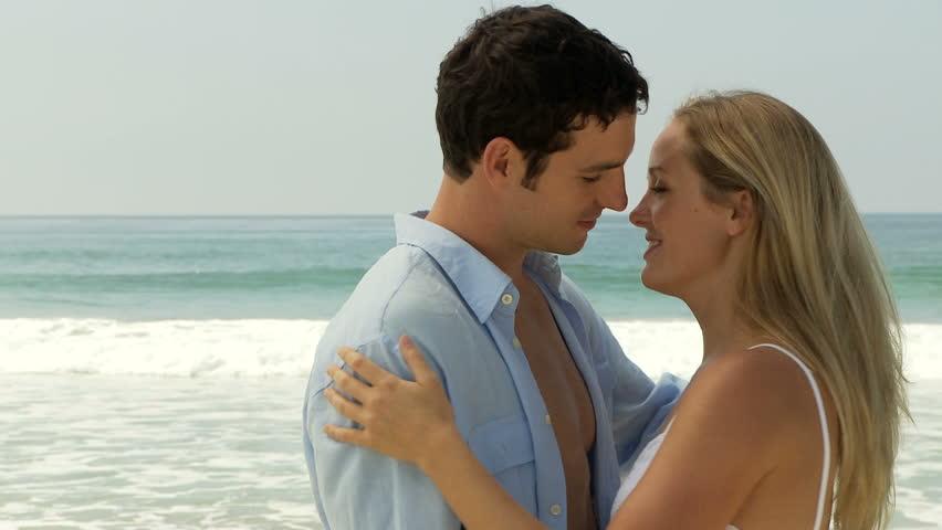 Passionate Newlyweds At Sunset Sensual Kisses And Hugs -4355
