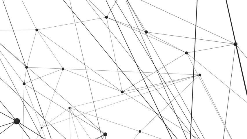 Connection structure , 3d animation abstract background