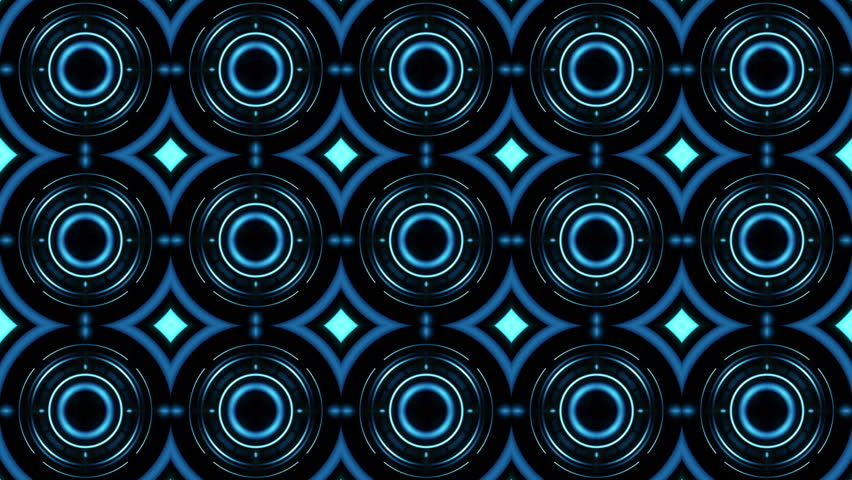Green VJ Visuals with Psychedelic Patterns | Shutterstock HD Video #8522389