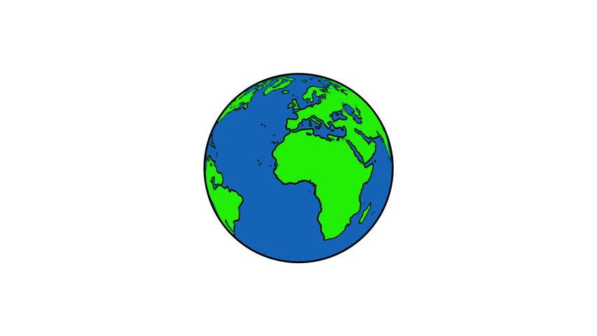 spinning globe clip art animation - photo #26