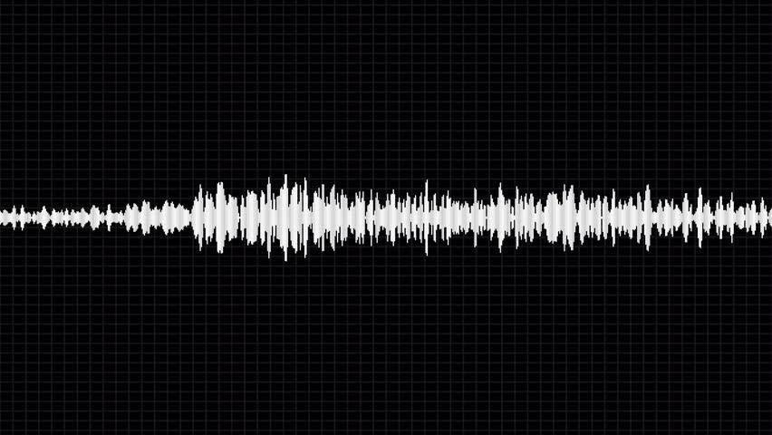 White waveform