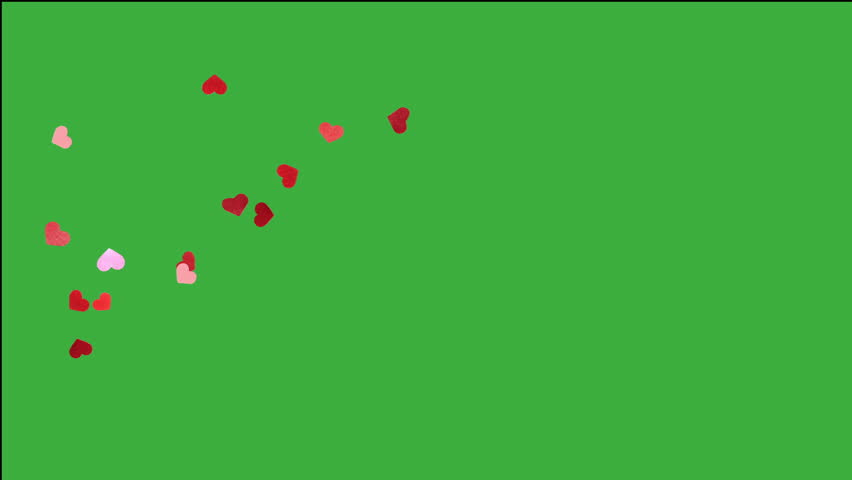 Heart falling for valentines day, with many small detail heart | Shutterstock HD Video #8650015