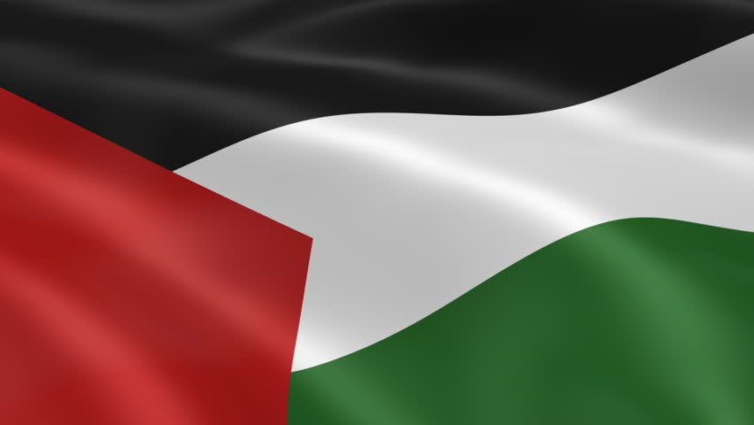 Flag of palestine stock footage video 4401644 shutterstock - Palestine flag wallpaper hd ...