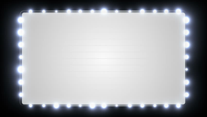 Marquee Lights Stock Footage Video - Shutterstock