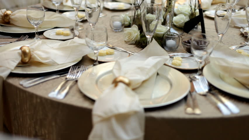Dinner Table Background set the table stock footage video - shutterstock
