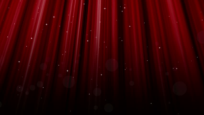 Spotlight On A Stage With Red Curtains Stock Footage Video 891787 . ...