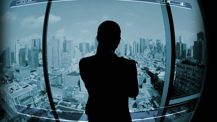 Businesswoman Touchscreen motion graphics rate exchange Technology global Trade | Shutterstock HD Video #9276248
