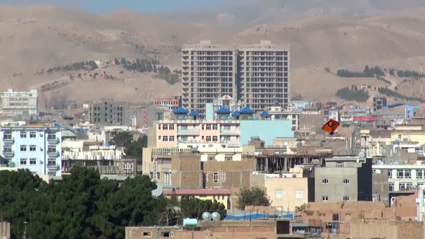 Buildings Of Herat Afghanistan Herat Is The Third Largest City