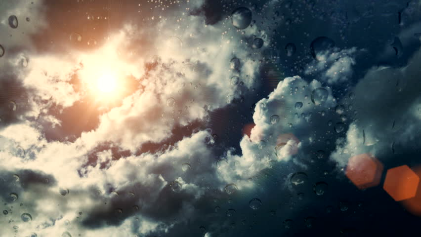 Dramatic Cloudscape Area with the Light sun ( Different Series )   Shutterstock HD Video #9505211