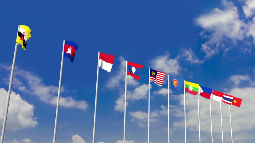 Malaysia Flag Stock Footage Video - Shutterstock