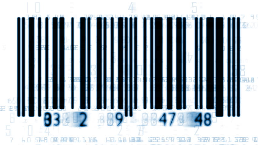 Bar-code numbers, sound included