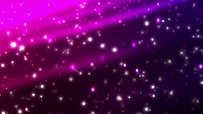 abstract purple background fractal snowflakes falling