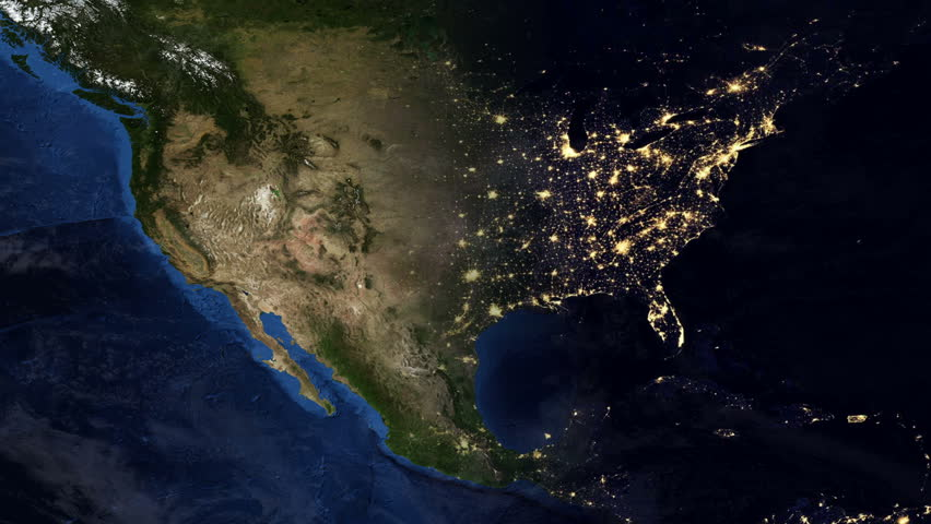 north america from space hd - photo #10