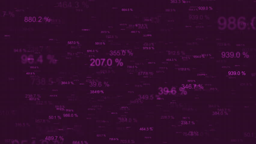 Loopable abstract background with randomly changing numbers flying towards to the camera   Shutterstock HD Video #9760451